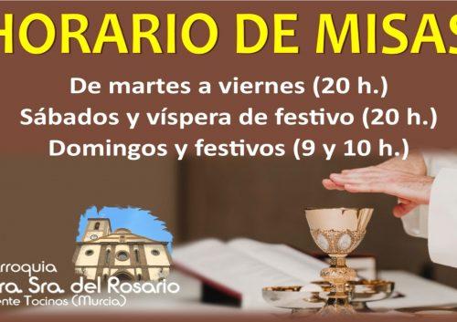 Horario de misas último que envía antonio en mayo (1)